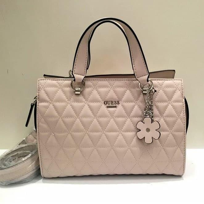 Jual Tas Wanita Guess Original Eve Satchel Pink - HECC Shop  9fde060837