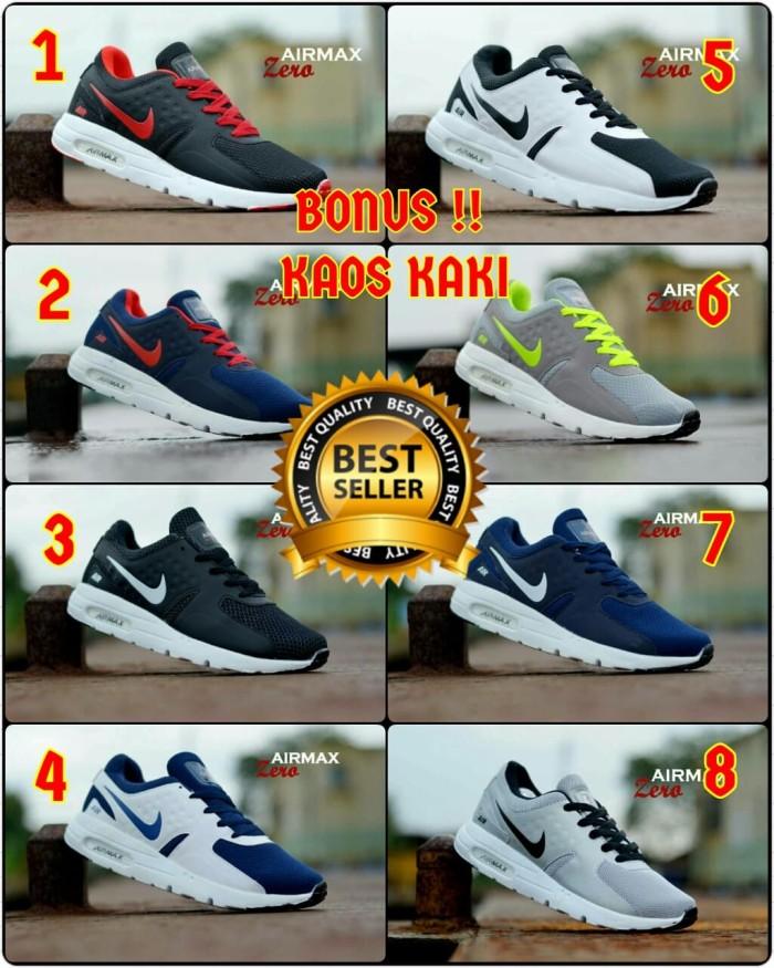 ... harga Sepatu pria nike airmax 2016 running hitam abu made in vietnam  Tokopedia.com 98ed285bd2