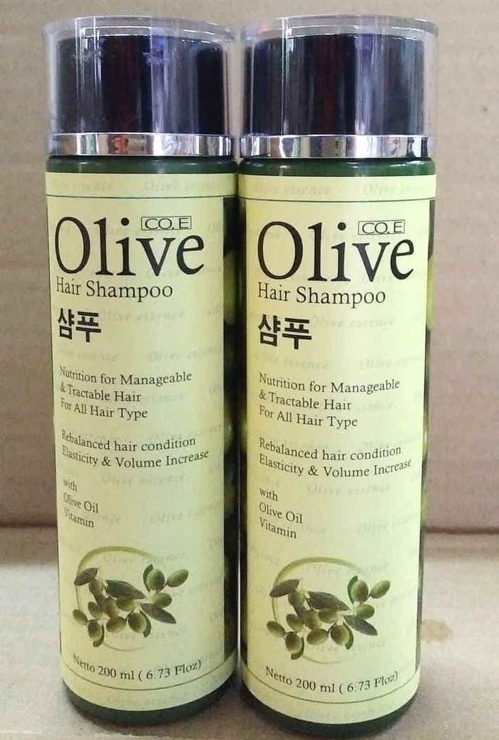 shampo olive korea asli bpom