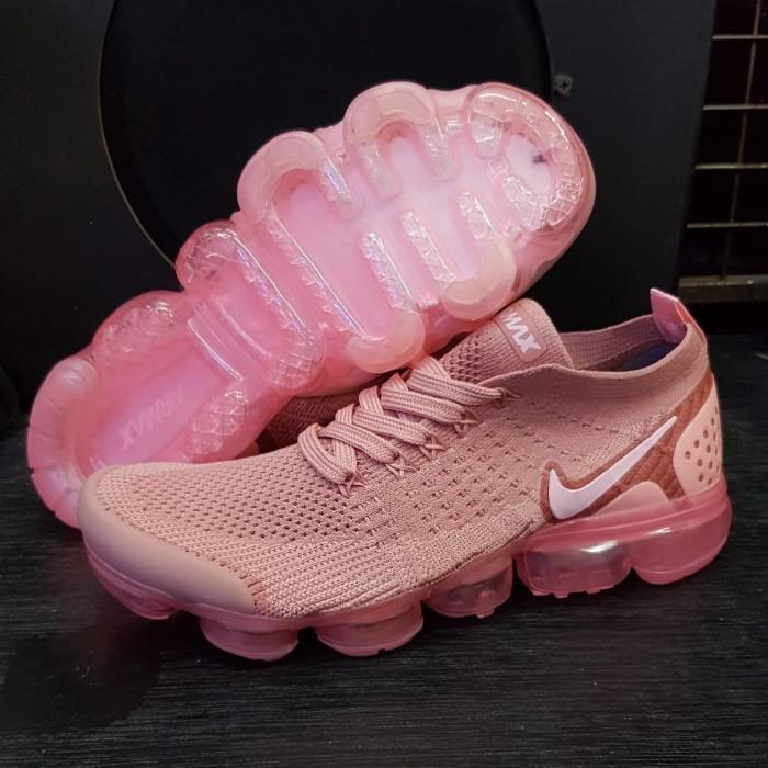 619c00d5ee79 Jual Nike Air Vapormax 2.0 Rose Pink Premium Quality - Merah Muda ...