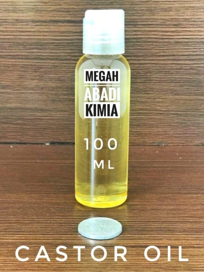 Foto Produk Minyak Jarak / Castor Oil / Penumbuh Rambut 100 ML dari Megah Abadi Chem
