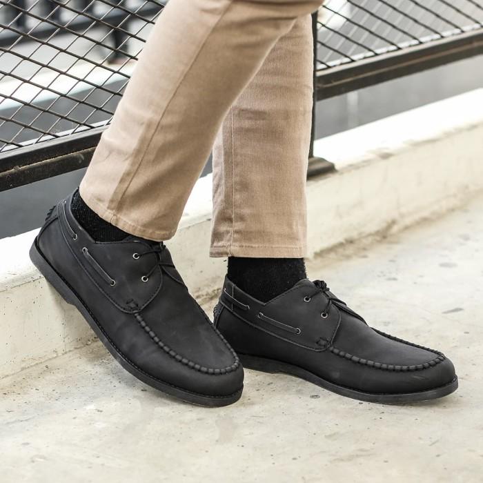 harga Lvnatica fico black - sepatu kerja pantofel formal casual pria zapato Tokopedia.com