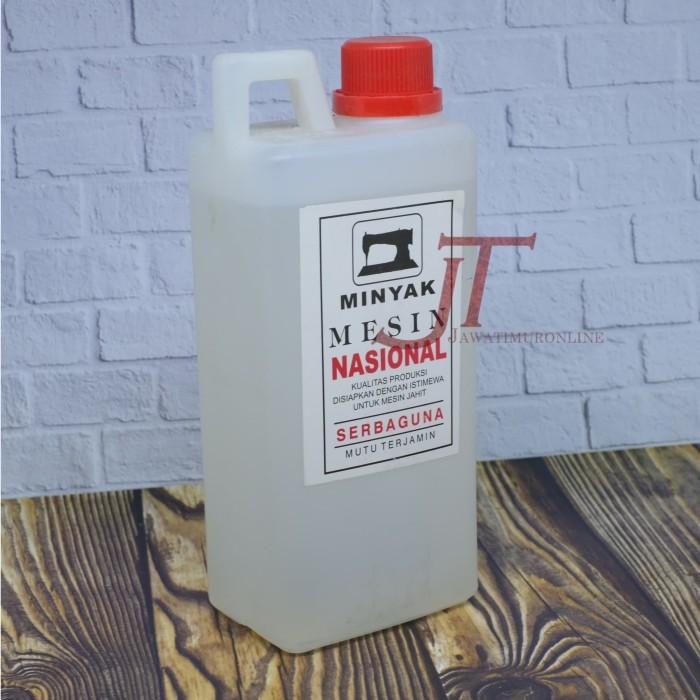 Minyak Pelumas Mesin Jahit Nasional / Oli Mesin Jahit Nasional 1 liter