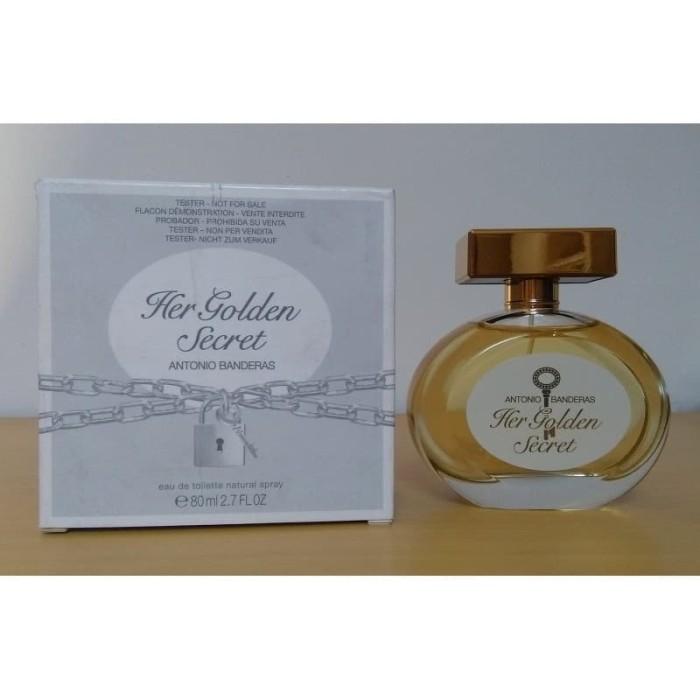 Jual Parfum Original Antonio Banderas Her Golden Secret 80ml Women