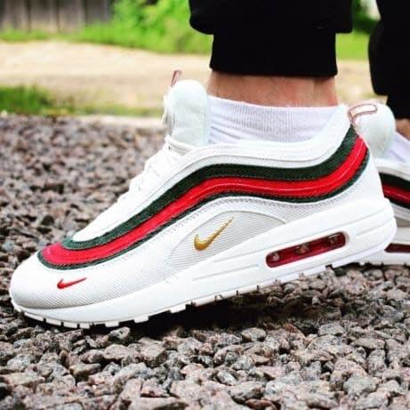buy popular 03457 3c948 Jual Nike Air Max 97 Sean Wotherspoon X Gucci Sepatu Sneakers Pria PREMIUM  - DKI Jakarta - Damari | Tokopedia