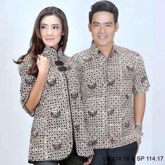 Jual Baju Muslim Pasangan Pria Sp 175 03 Dan Wanita Sp 175 04 Kab Bandung Ria Shopee Tokopedia