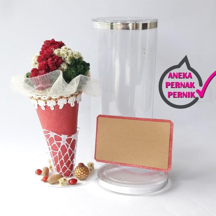 harga Kado murah cantik bunga edelweis dalam ice cream cone Tokopedia.com