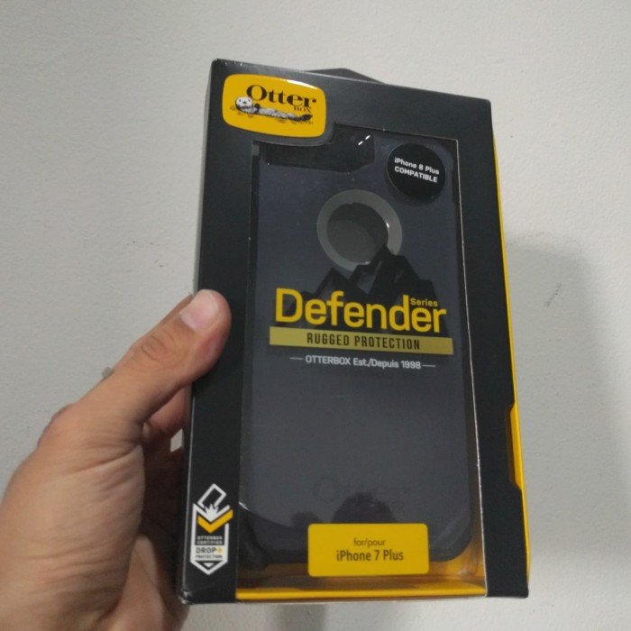 harga Otterbox defender case for iphone 8 plus (grey stormy peak colour) ori Tokopedia.com