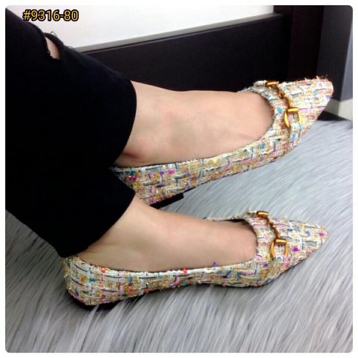 Jual BESTSELLER IN STORE Sepatu Fashion Wanita Murah Flat Shoes ... 3d1ad5f6f1