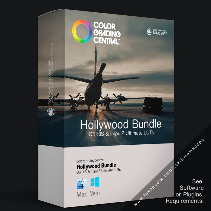 Jual Color Grading Central - Hollywood Bundle LUTs (MAC/WIN) - Kota  Gorontalo - Kaki Lima Mac App | Tokopedia