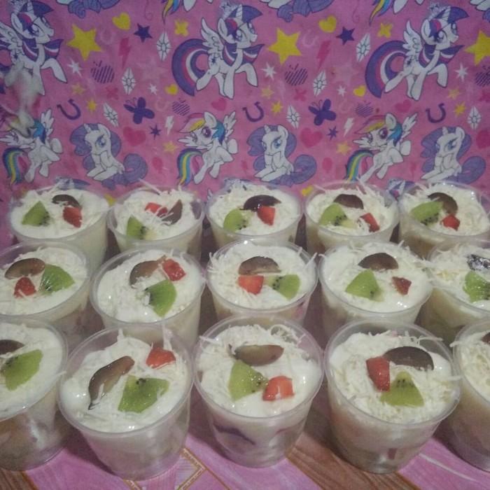 Jual Salad Buah Cup Mini Dki Jakarta Salad Buah Rezki Tokopedia