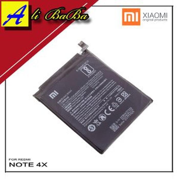 Baterai Handphone Xiaomi Redmi Note 4X BM43 BN43 Batre HP
