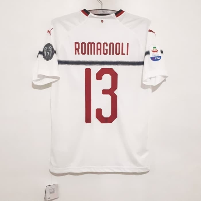harga Ac milan original jersey 2018-2019 away fullpatch nameset romagnoli Tokopedia.com