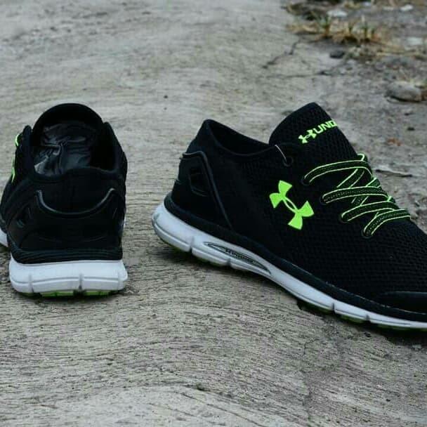 Jual Sepatu Under Armour Men untuk Olahraga Best Quality - Hijau ... a889e9445d