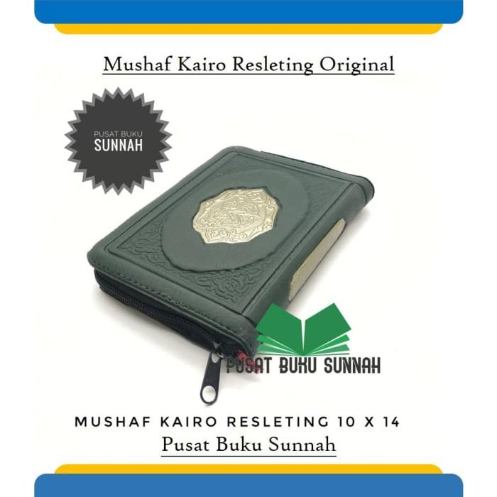 harga Al quran saku import kairo resleting khat utsmani 10 x 14 original Tokopedia.com