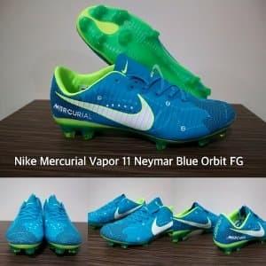 b780eb89355 Jual Sepatu Bola Nike Mercurial Vapor XI NJR Blue Orbit - DKI ...