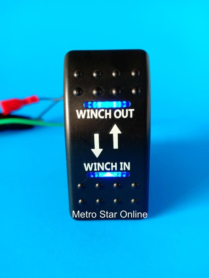 Foto Produk Rocker Switch Saklar Model ARB - Winch In - Winch Out dari Metro Star Online