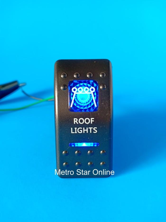 Foto Produk Rocker Switch Saklar Model ARB - Roof Lights dari Metro Star Online