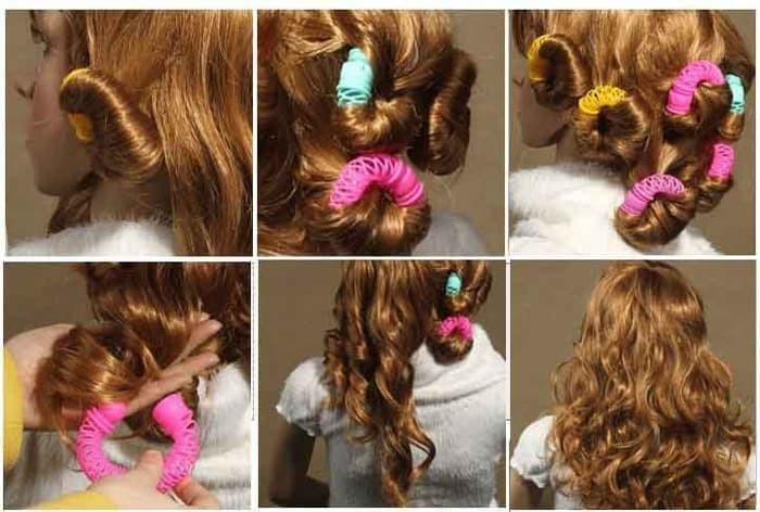 Jual Alat keriting rambut tanpa catok rol Jepit rambut pengeriting ... 290d579231