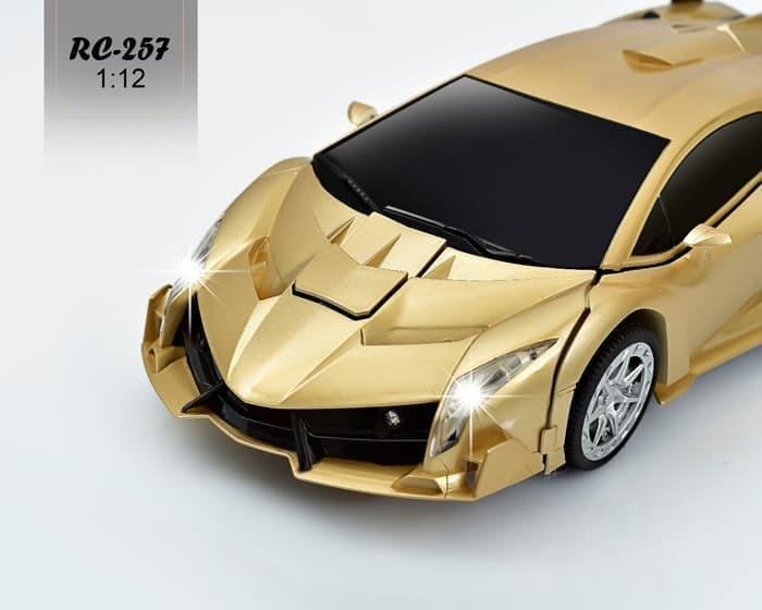 Jual Mainan Mobil Remot Rc Car Lamborghini Robot Transformer 2 4ghz