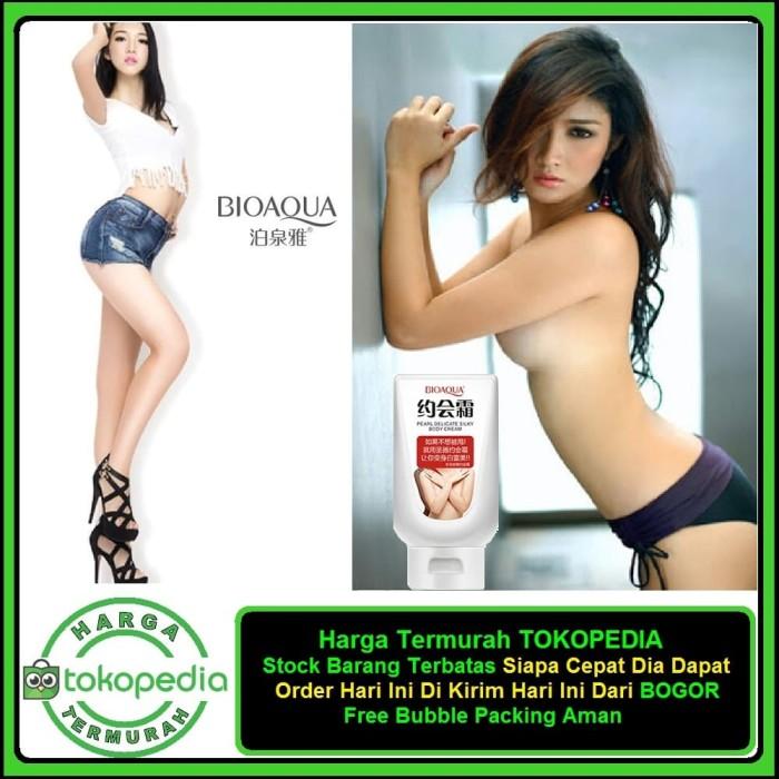 harga Big sale bioaqua body whitening cream pearl delicate silky / whitening Tokopedia.com