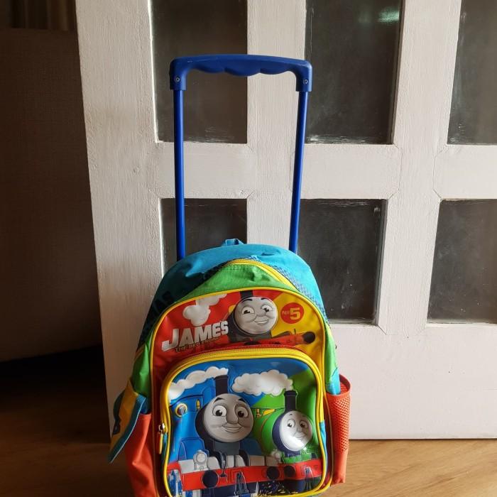 Tas sekolah anak trolley original Thomas preloved