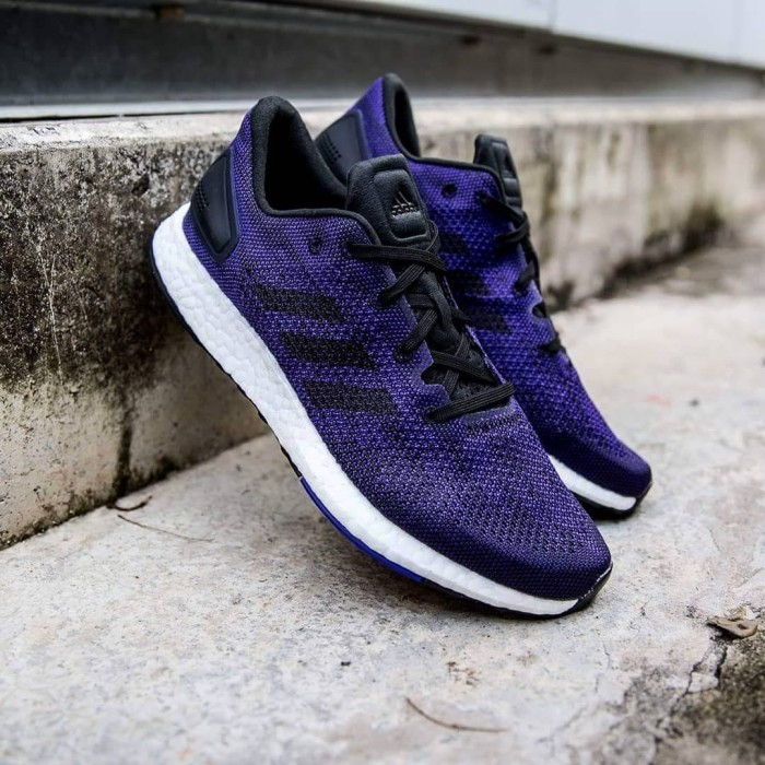 d59d9c691 Jual Sepatu Adidas Pure Boost DPR Dark Purple Original - Go Shoes ...