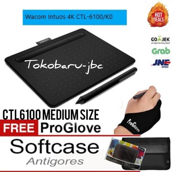harga New wacom intuos art cth690 blue (medium) resmi termurah+bonus ! Tokopedia.com