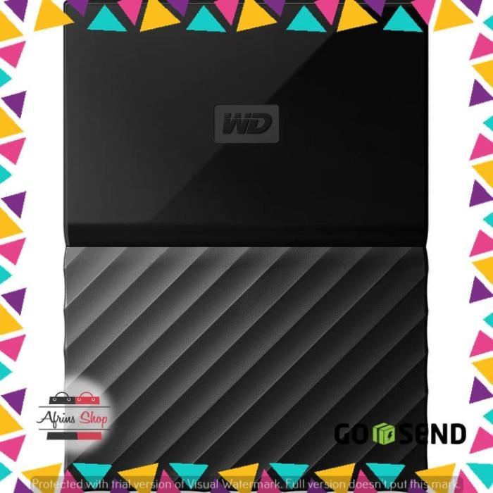 WD My Passport Colorful 3rd Generation USB 3.0 2TB - Hitam