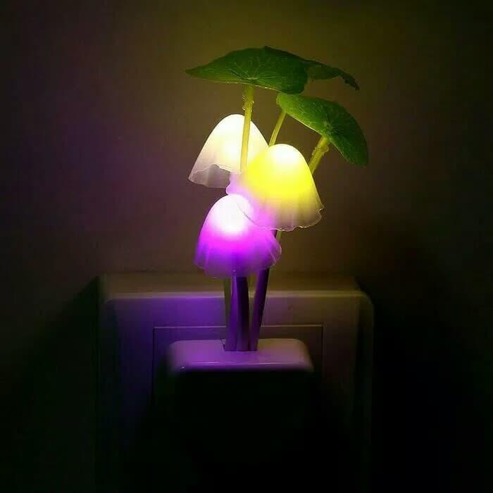 Lampu Tidur Bentuk Jamur / Lampu Hias Kamar