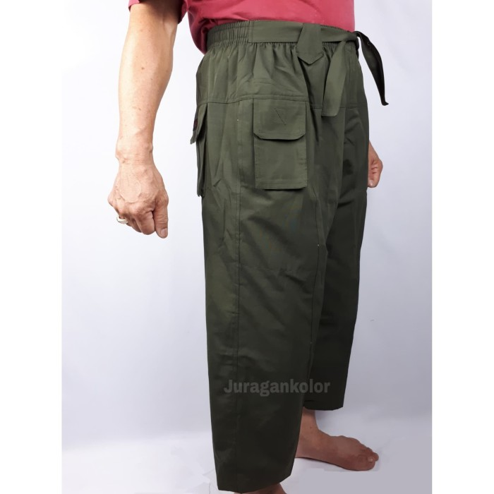 Foto Produk Celana Sirwal / Pangsi Tali BOXER JUMBO -PTBJ dari JuraganKolor