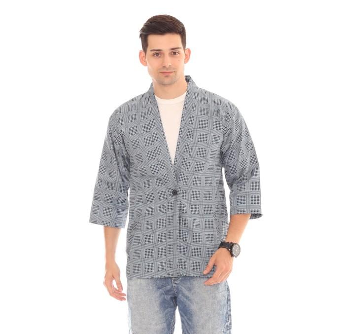 harga Musca azure kimono / kemeja koko/ yukata Tokopedia.com