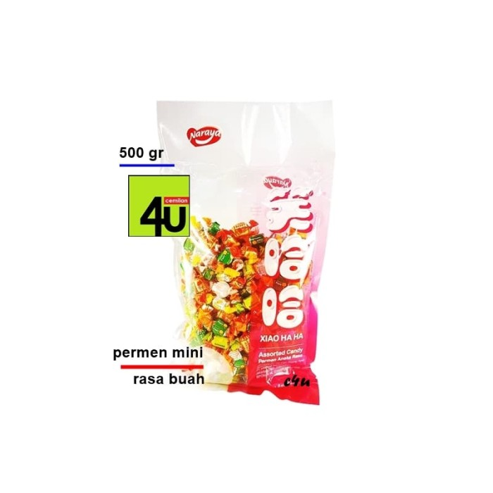 Naraya - Xiao Ha Ha Assorted Candy - 500 Gr - Blanja.com