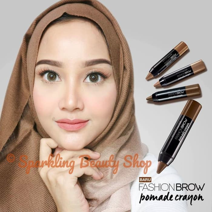 Kelebihan Maybelline Fashion Brow Pomade Crayon Eyebrow Br2 Mocha Source · Eyebrow Powder & Pomade Maybelline