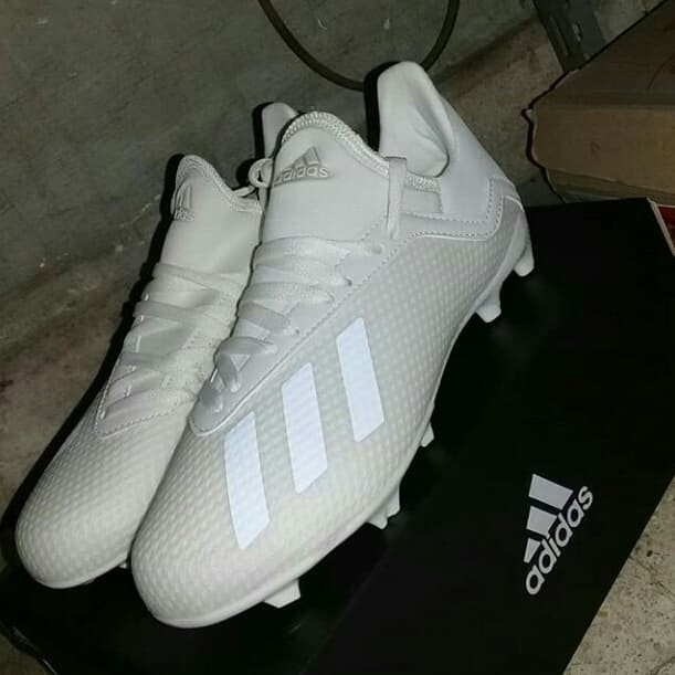 Jual Sepatu Bola Anak Adidas X 18 3 Fg Jr Putih Kota Bandung