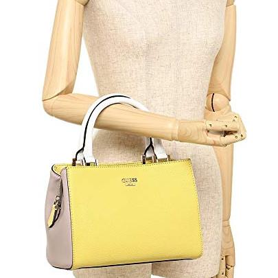 Jual Tas Wanita Guess Original Dania Satchel Yellow - HECC Shop ... 3bd2b9dccb