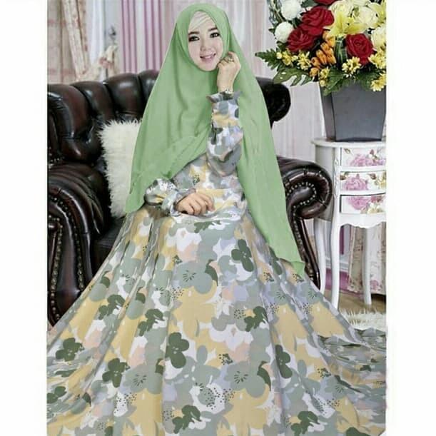 Jual Baju Gamis Syari Ponirah Gamis Perempuan Busana Muslim Elegan