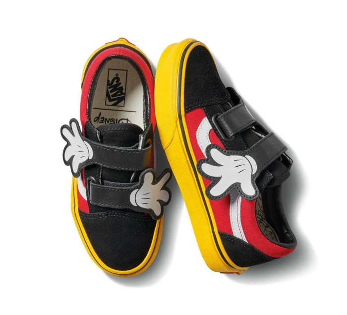 aebe97a7ad Sepatu Vans Old Skool V silhouette x Mickey Mouse collection Kids Anak
