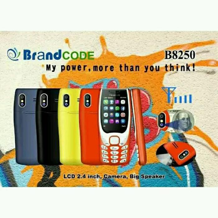 harga Brandcode b8250 dual sim pendeteksi uang palsu kamera garansi resmi Tokopedia.com