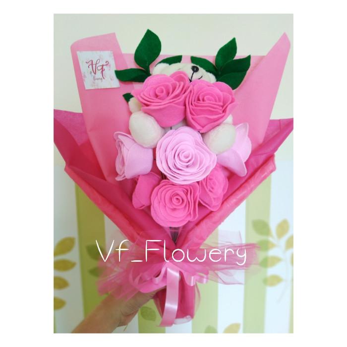 Jual Buket Bunga Flanel Murah Buket Bunga Wisuda Buket Bunga Anniversary Kab Bekasi Vf Flowery Tokopedia