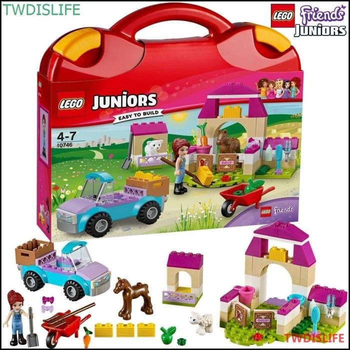 Jual Lego Juniors Friends 10746 Mias Farm Suitcase Set Animal Kid