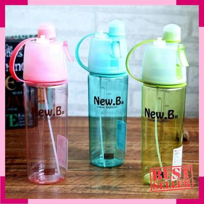 ouapik jo sport spray water bottle / botol minum semprot / new b