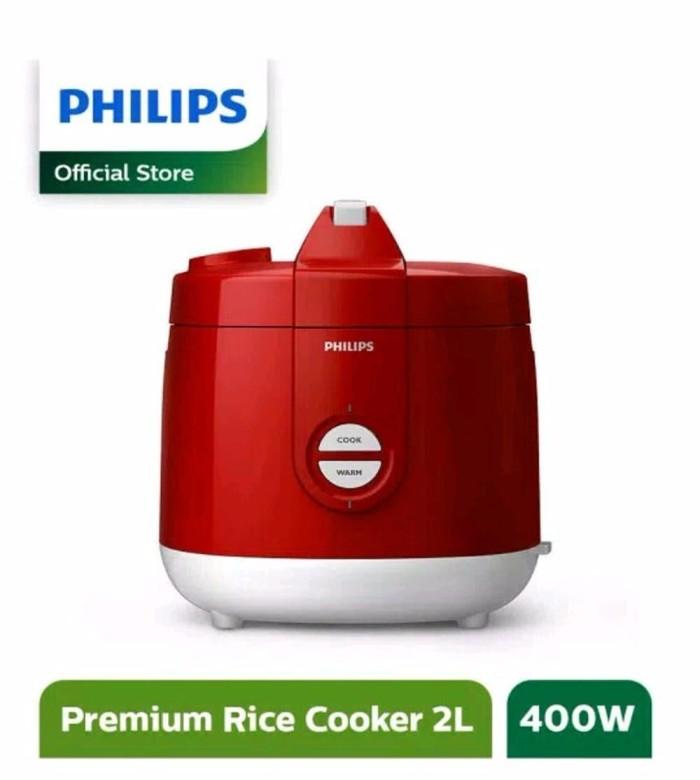 Rice cooker philips HD 3127 magic com 2 liter hijau