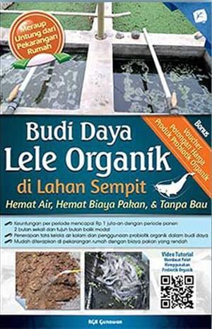 Foto Produk Budi Daya Lele Organik di Lahan Sempit dari Toko Kutu Buku