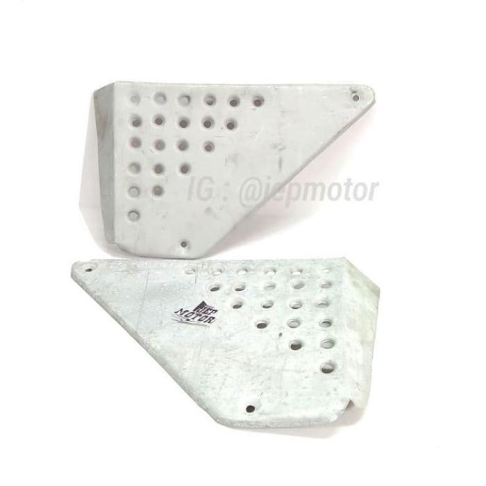 harga Box tutup aki custom japstyle scrambler galvanis lubang Tokopedia.com