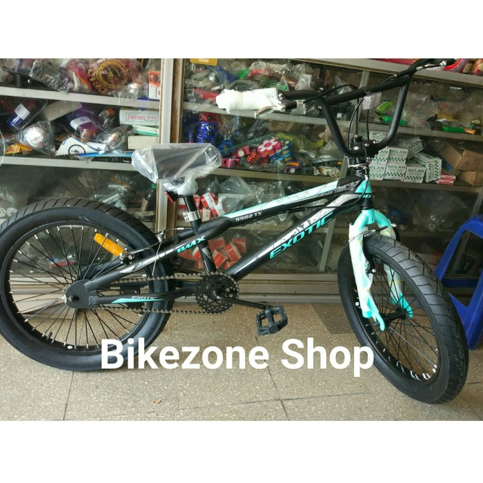 Sepeda BMX 20 x 3.0 Ban besar Exotic ET 9982 Rotor KHUSUS GOSEND BDG
