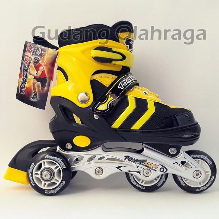 Lakoka Sepatu Roda Anak Dewasa Model Inline Bajaj Size Lmerah ... d9ad7356f4