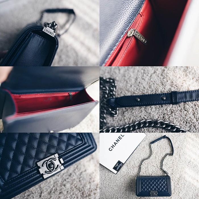 Jual Chanel Boy Medium Classic Flap Bag - TasBrandedKita  6d1b9a4af9