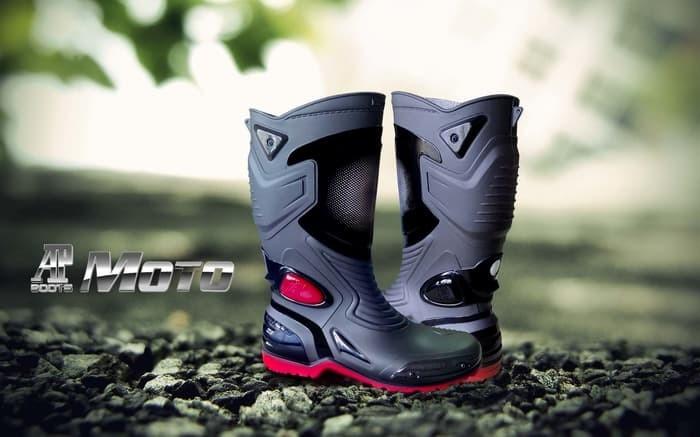 harga Sepatu ap boots moto 3 sepatu touring cross trail balap drag anti air Tokopedia.com