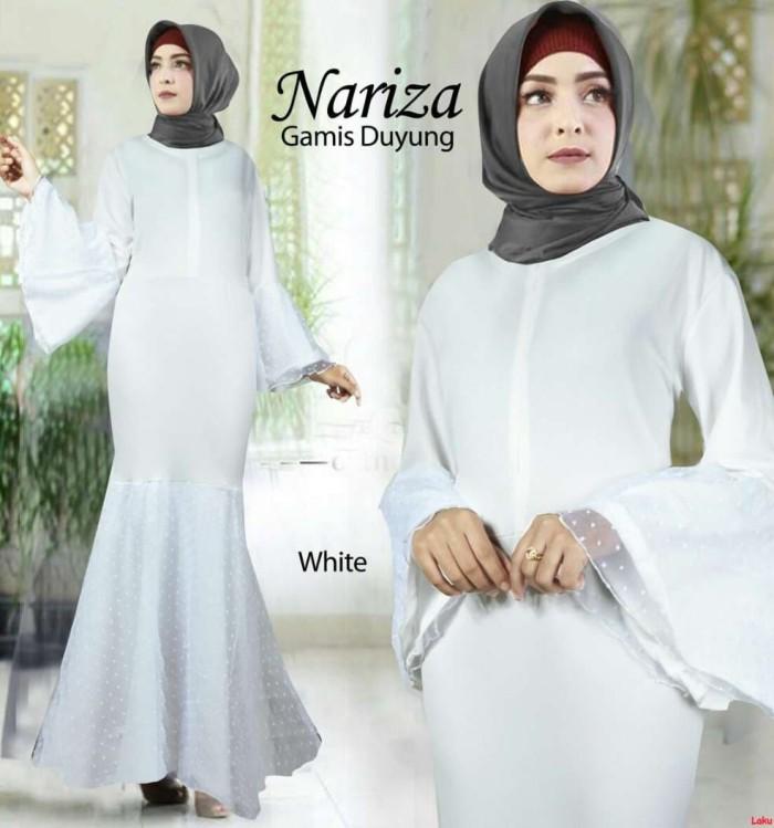Jual Nariza Maxi Baju Gamis Simple Baju Gamis Ruffle Gamis Duyung Polos Ar Dki Jakarta Laku Shop Tokopedia